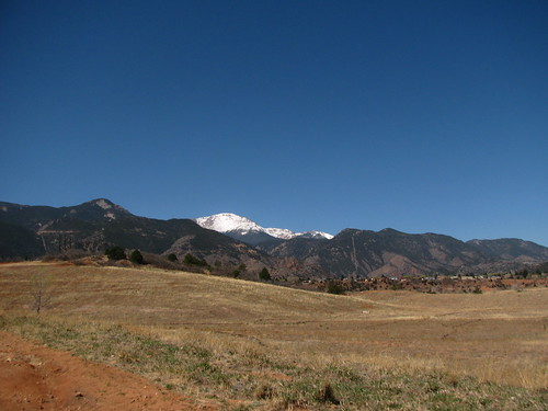 Pikes Peak in the distance | by kafski