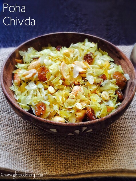 Poha Chivda Recipe for Toddlers and Kids1