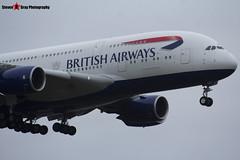 G-XLEJ - 192 - British Airways - Airbus A380-841 - Heathrow - 161127 - Steven Gray - IMG_6481