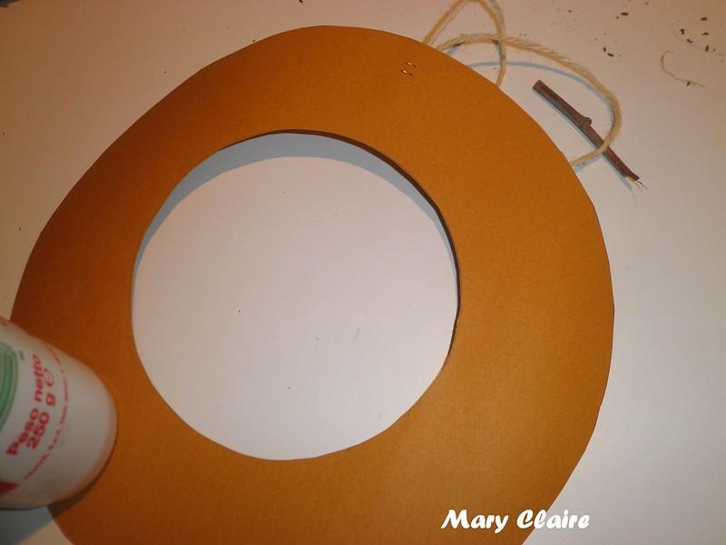 cerchio di cartoncino