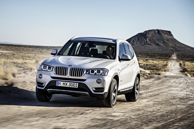 [新聞照片四] 2017年式BMW X3特定車型升級標準配備Nevada真皮內裝與V輻式18吋輪圈