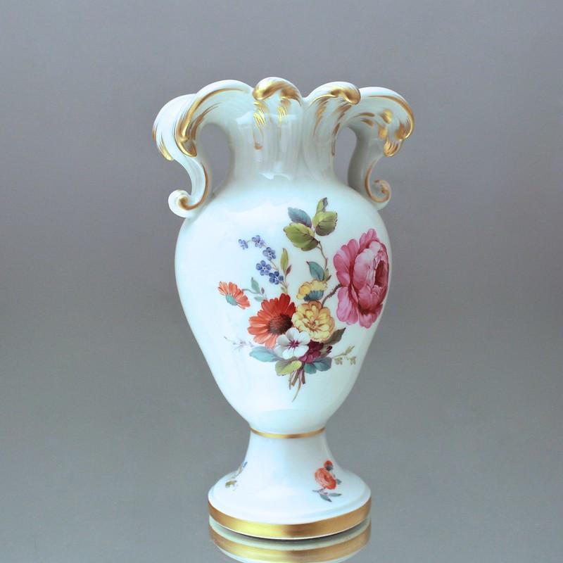 kpm berlin vase nach s vres vorbild rokoko blumen gold v schen jugendstil ebay. Black Bedroom Furniture Sets. Home Design Ideas