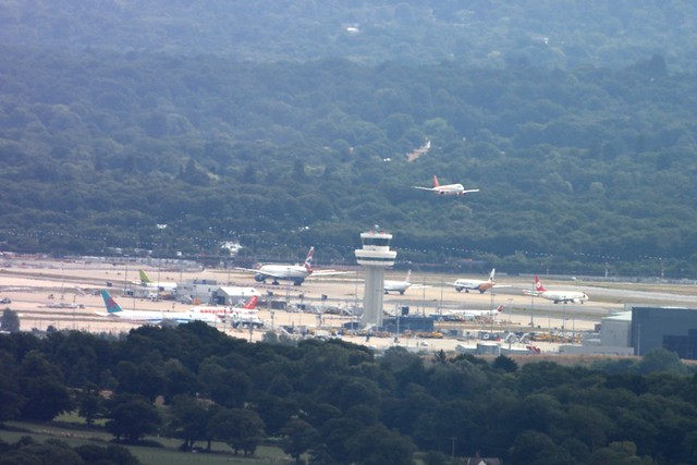 Gatwick From Leith Hill