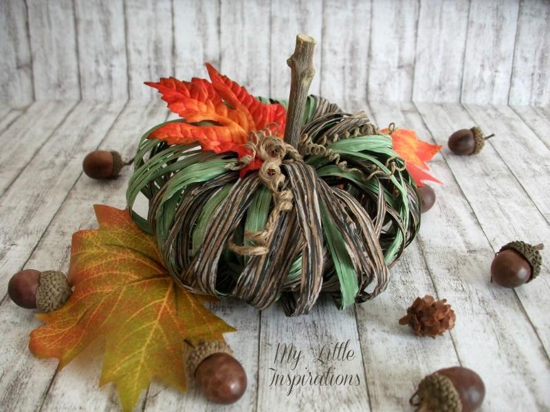 Raffia Pumpkin 2 - MLI