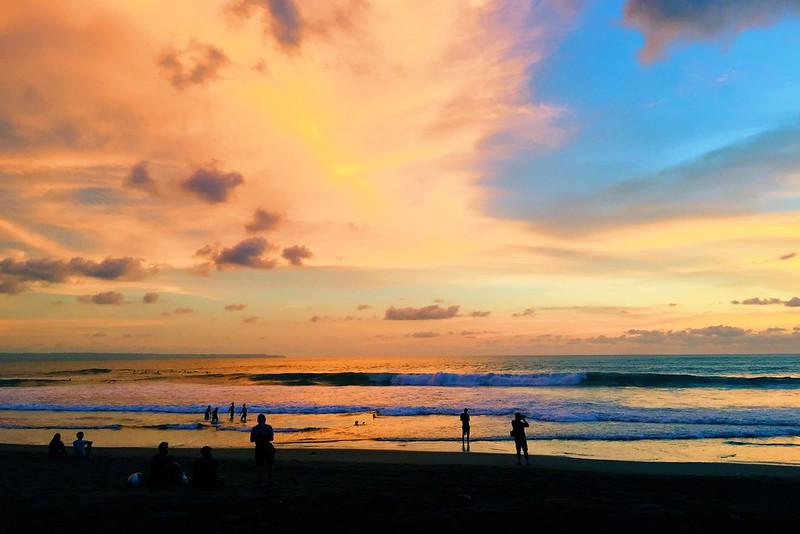Echo beach Sunset Canggu Bali 2