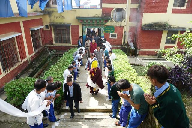 法王噶瑪巴出席西藏兒童村文化慶典