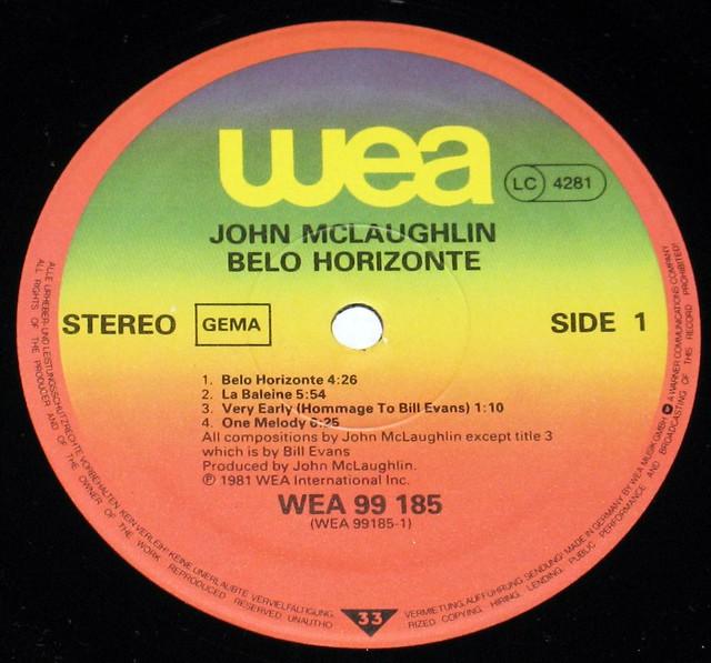 John McLaughlin Belo Horizonte Paco De Lucia