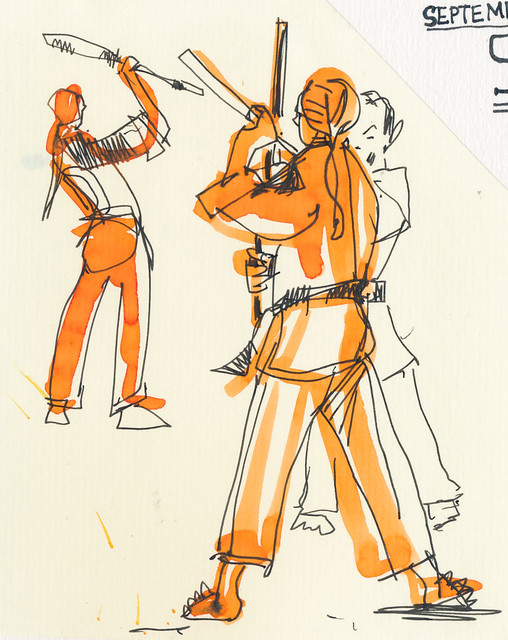 Sketchbook #100: My Life Drawing Class