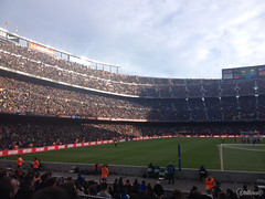 Camp Nou. Barcelona. Spain