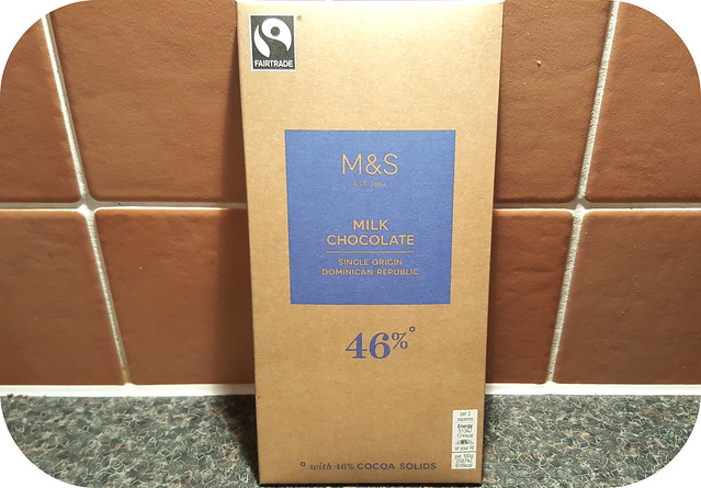 M&S Single Origin 46% Dominican Republic Milk Chocolate