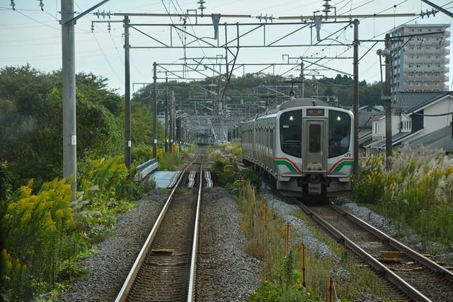 東北本線:国府多賀城駅付近