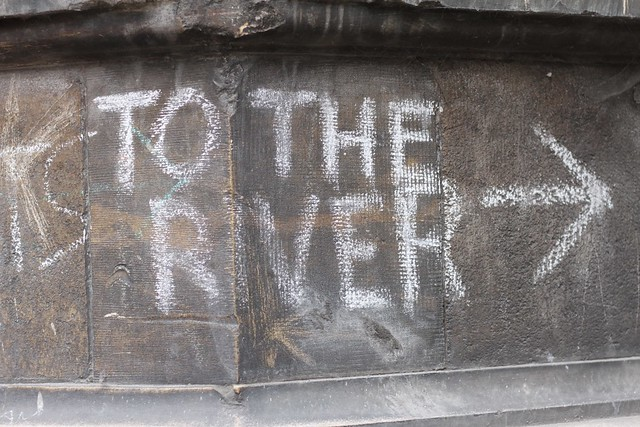 To the river