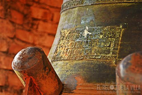 Incripción de la campana de los cuartos