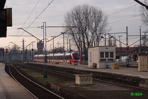 Unexpected visitor in Gliwice - new NEWAG EMU for SKM Warszawa | by MvM84