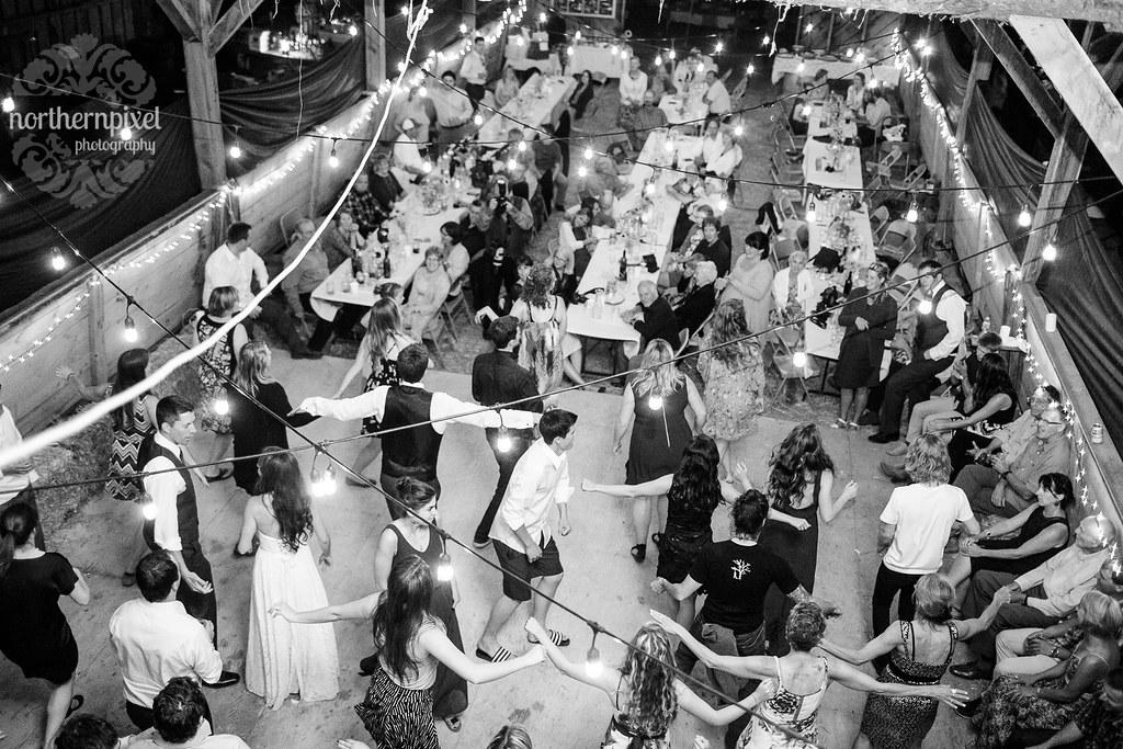 Smithers BC Barn Wedding Reception