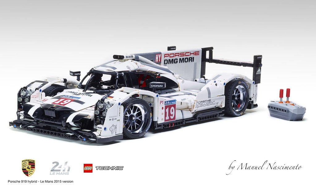 Porsche 919 Hybrid By Manuel Nascimento Lego Technic And