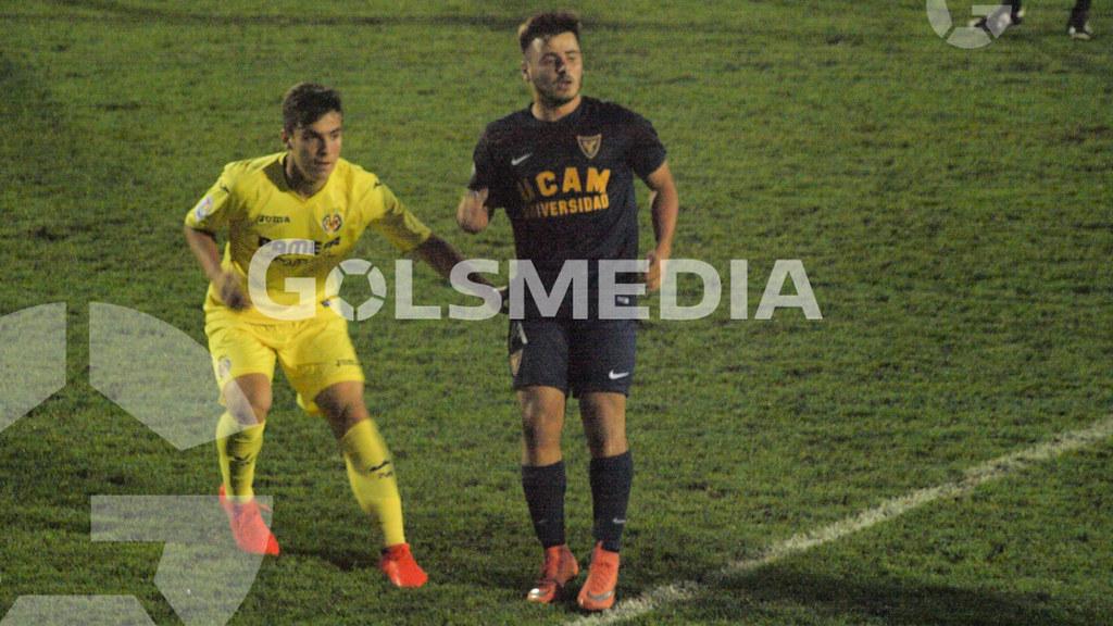 Juveniles. Villarreal CF 3-1 UCAM Murcia CF (12/10/2016), Jorge Sastriques