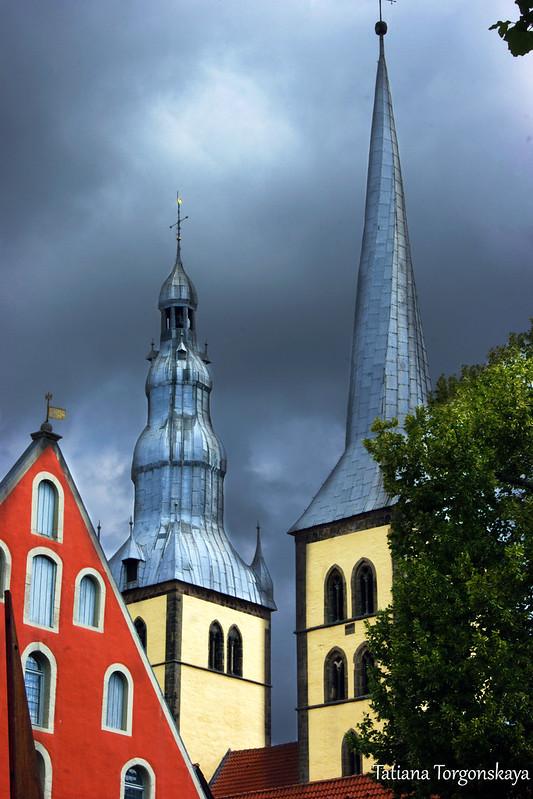 Башни церкви Св. Николая