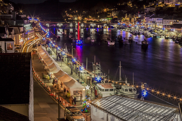 2016 Looe Christmas Lights