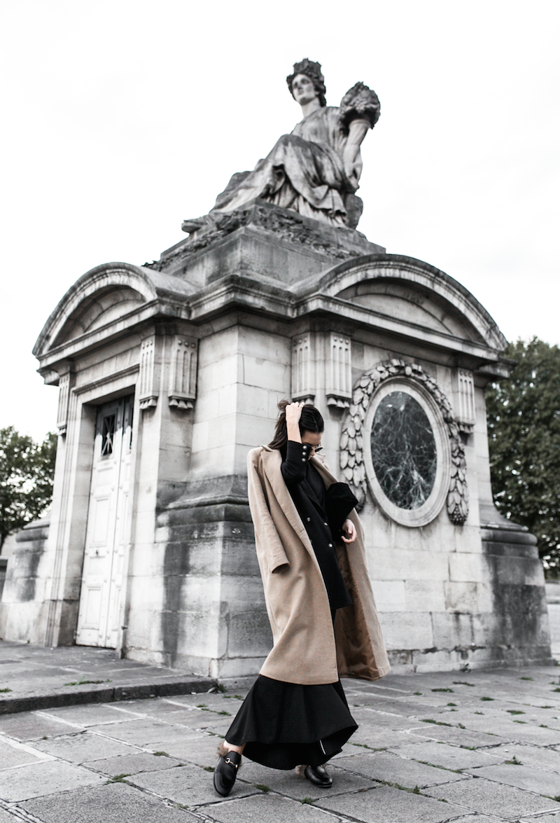 paris street style camel coat ellery flares gucci princetown fur loafers fashion blogger modern legacy (6 of 10)