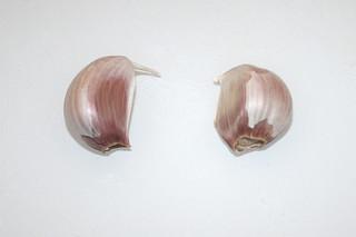 03 - Zutat Knoblauchzehen / Ingredient garlic