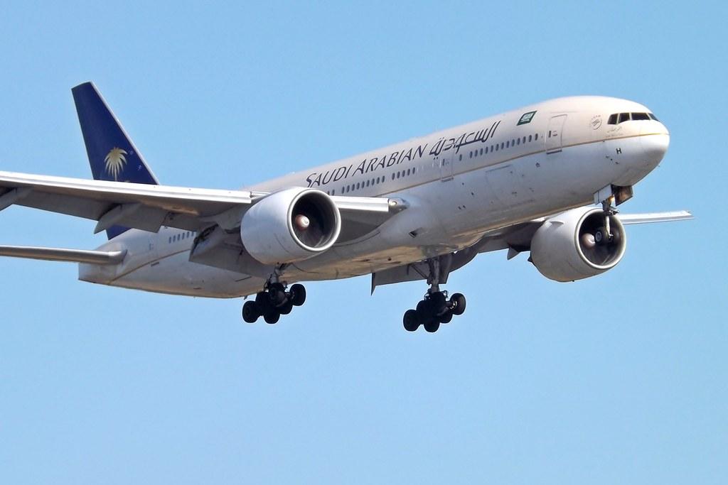 HZ-AKH Boeing 777 Saudi