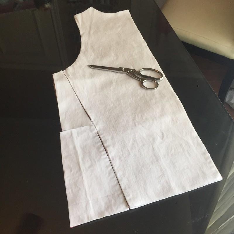 Denim Faux Shearling Vest - In Progress