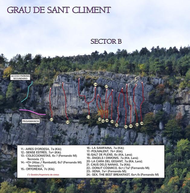Vallcebre - Grau de Sant Climent - Sector B - 2016