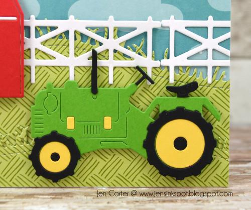 Jen Carter Grandpas Farm Tractor Closeup