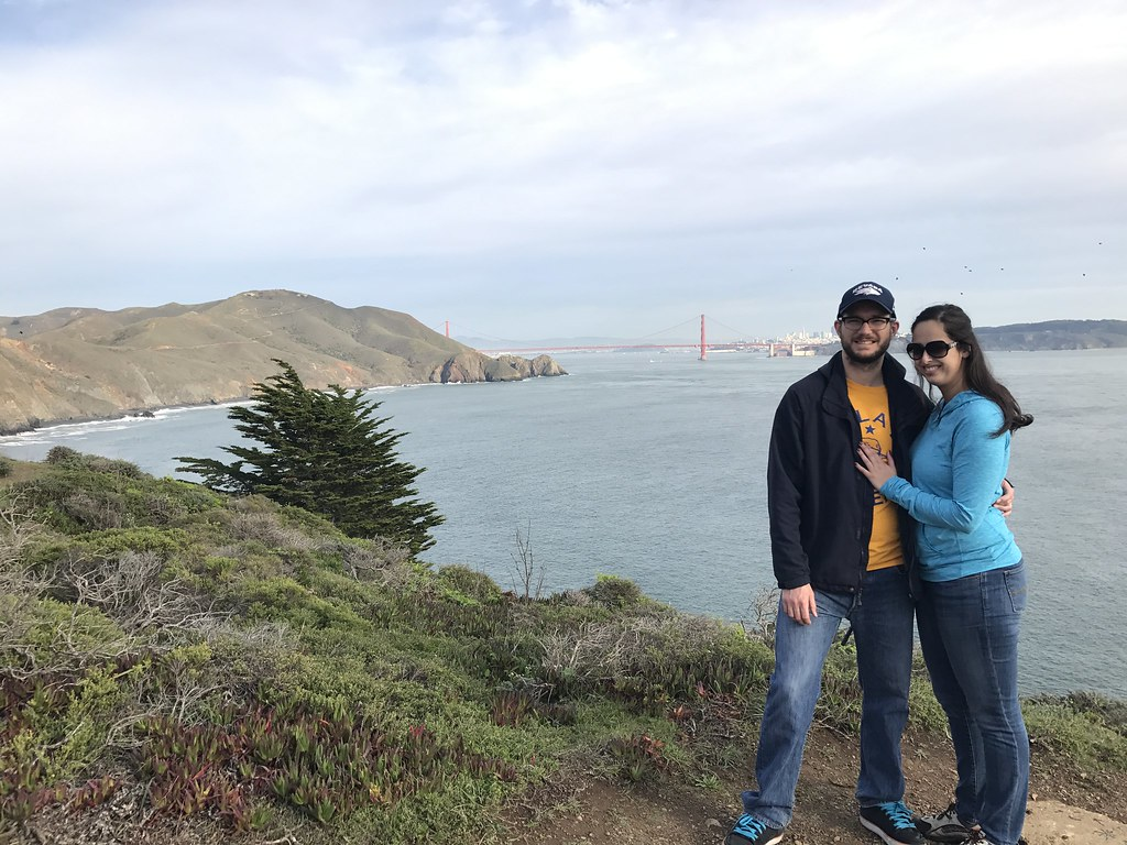 Justin Kristen Golden Gate Bridge