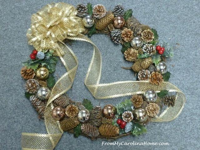 Christmas Wreaths ~ From My Carolina Home