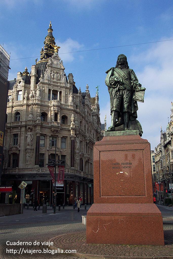 Monumento a David Teniers. © Paco Bellido, 2006
