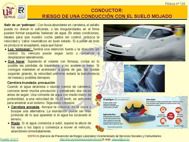 129 Pildora CONDUCTOR.RIESGO DE UNA CONDUCCIÓN CON EL SUELO MOJADO_Página_2