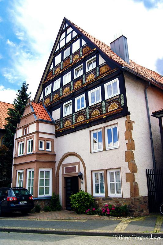 Фасад старого здания