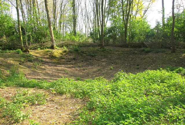 Shell Crater, Railway Wood, Ypres