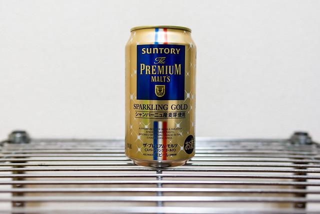 プレミアム・モルツ スパークリングゴールド缶