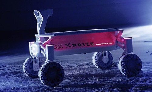 2017 Audi Lunar Rover Mission To The Moon