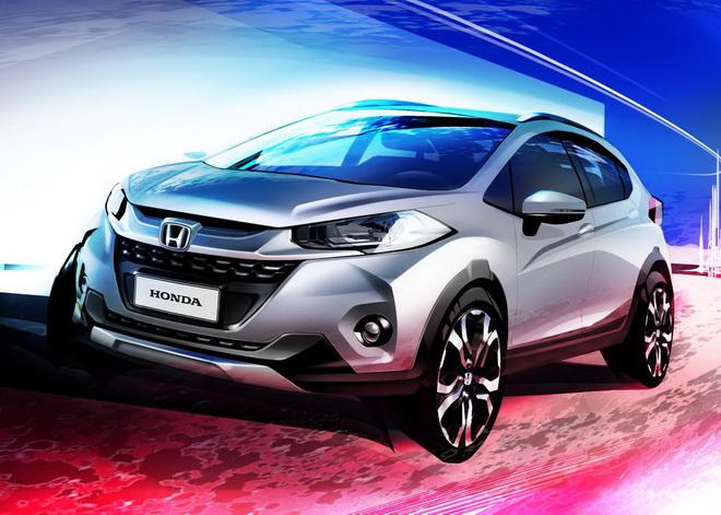 Honda-WR-V-design-sketch-official-front