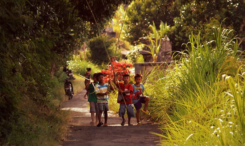Village life,Kintamani,Bali