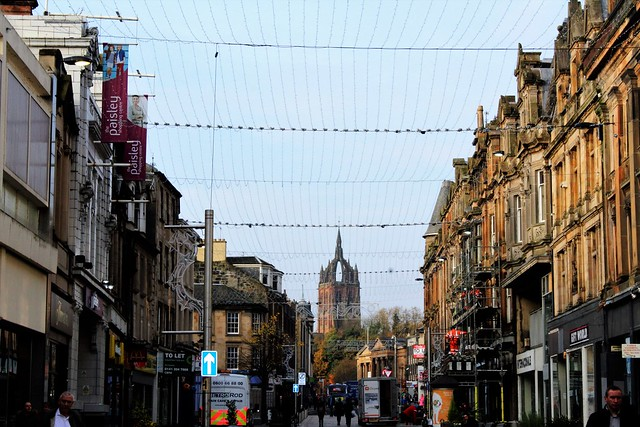 High Street, Paisley, Scotland