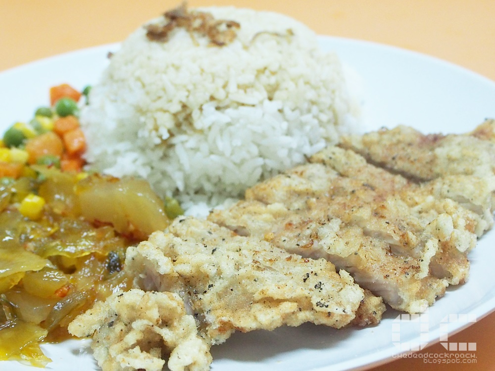 beach road, food, food review, review, singapore, supreme pork chop rice, 一品排骨饭, pork chop,pork chop rice,一品,排骨饭