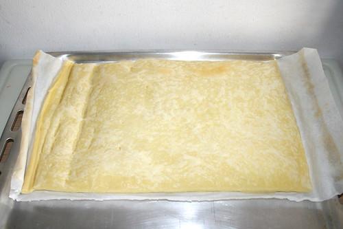23 - Blätterteig vorgebacken / Puff pastry - pre-baked