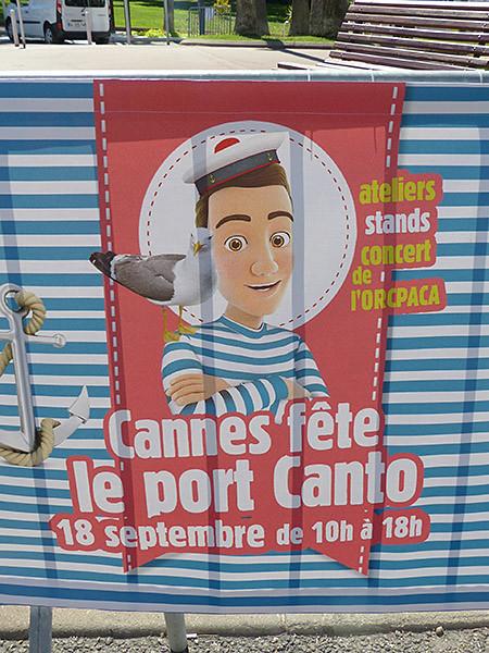 cannes fête le port canto