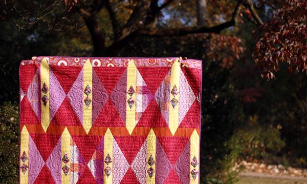 Cranberry Tart quilt