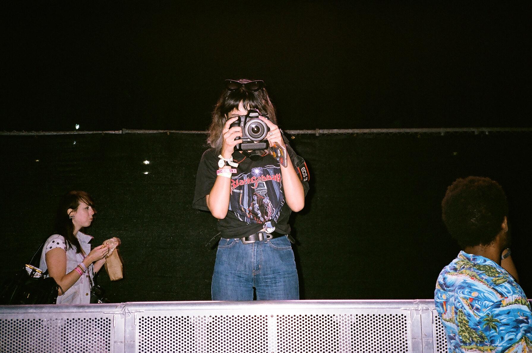 FYF Fest Photo Pit
