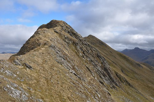 On the way down Sgurr Coire Choinnichean