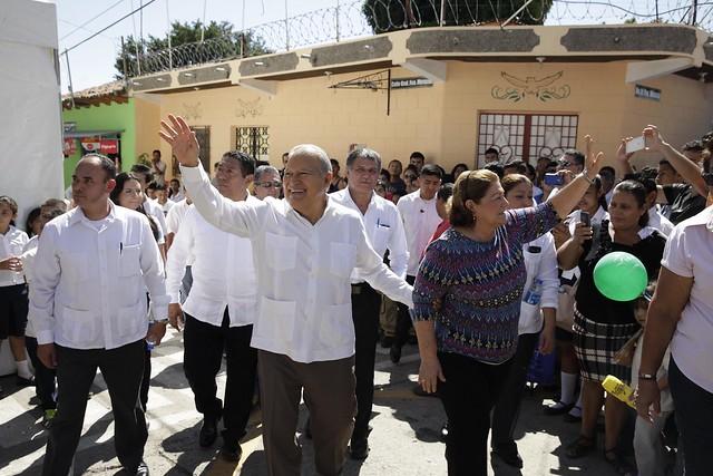 Festival para el Buen Vivir y Gobernando con la Gente, Tecoluca.