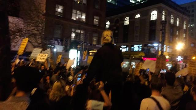 Anti-Trump rally in San Francisco