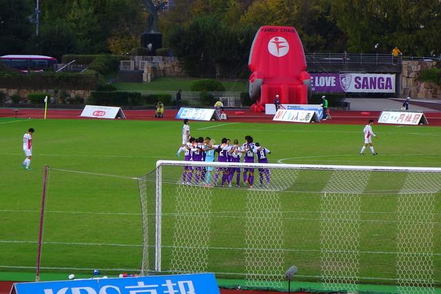 2016/10 J2第38節 京都vs岡山 #02