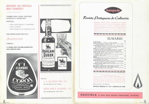 Banquete, Nº 107, Janeiro 1969 - 2